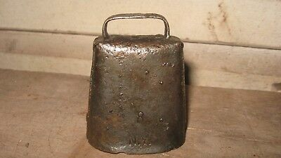 Vintage Small Cow / Calf Bell , Stamped 8 Ny