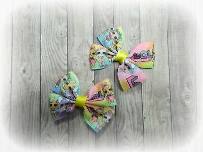 LOL surprise dolls hair clips, bows for girls