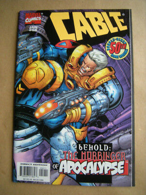 ---CABLE Nr. 50 (double-sized) --- Marvel Comics, USA (1998)  -- englisch !
