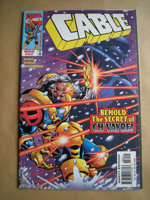 ---CABLE Nr. 52 --- Marvel Comics, USA (1998)  -- englisch !