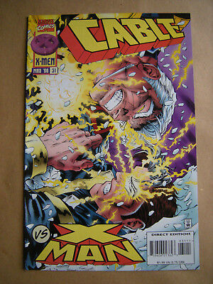 ---CABLE Nr. 31 --- Marvel Comics, USA (1996)  -- englisch !