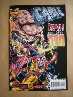 ---CABLE Nr. 28 --- Marvel Comics, USA (1996)  -- englisch !