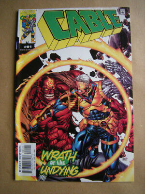 ---CABLE Nr. 81 --- Marvel Comics, USA (2000)  -- englisch !