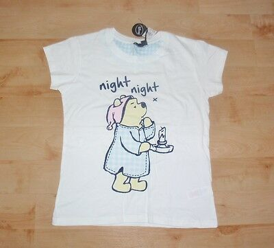 BNWT Primark ladies girls DISNEY WINNIE THE POOH pyjama lounge top
