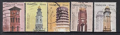 MALAYSIA 2003 Clock Towers Very Fine Used