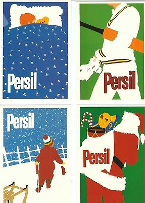 Advertising16  Postcard  Persil Soap Powder  Most Likely A Set