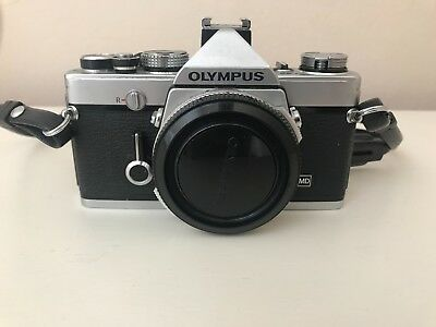 Olympus OM1n. Superb condition. Film tested and fully working.