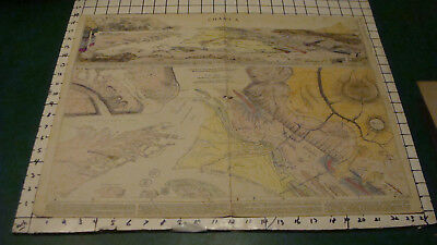 1926 Vintage Original PANORAMA of PHYSIOGRAPHIC TYPES lobeck COLORED