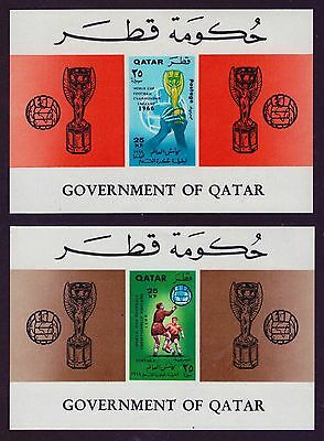 QATAR KATAR  WM 1966 4 Blocks   **/MNH