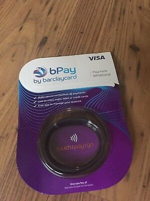 BPAY Barclaycard Wristband Contactless Payment Visa Festival