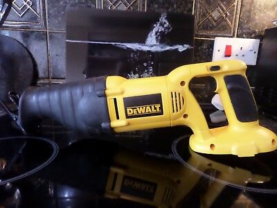 DeWALT DC380 XRP 18V Cordless Reciprocating Saw (Bare Unit)