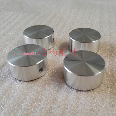 HIFI Aluminum Silver Knob 32*15 Amplifier DAC Audio Volume Potentiometer Knobs