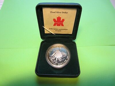 KANADA - 1 Silberdollar 2001 - Nationalballett - PP -