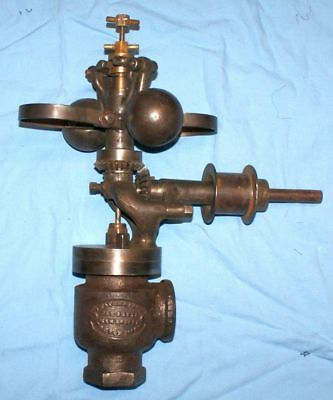Old Antique Vintage WATERS flyball governor steam gas engine hit miss Boston