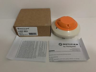 Brand New Notifier Fsp-851 Photoelectric Smoke Detector Free Shipping !!!
