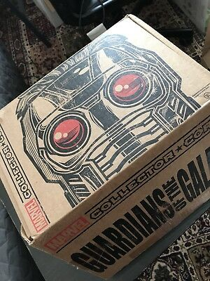 Guardians of the Galaxy Collectors Corps Groot Rocker Star Lord Funko Pop marvel