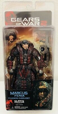 Marcus Fenix Theron Disguise Gears Of War 2 Action Figur Neca Player Select Mib