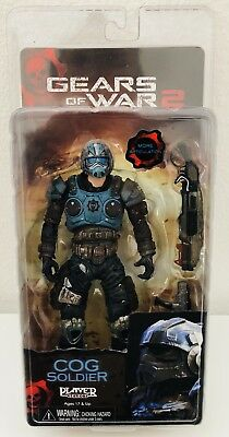 Cog Soldier Gears Of War 2 Action Figur Neca Player Select Mib