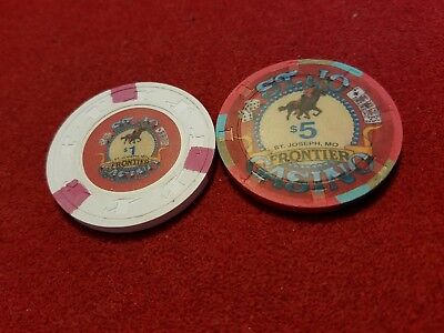 St. Jo Casino ~ Frontier ~ St. Joseph, MO ~ set of 2
