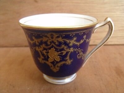 George Jones & Sons Cresent Gilded Coffee Cup Can 1891-1920 Mark Free UK Post