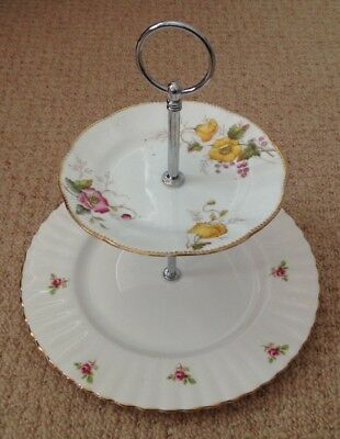 2 Tier Cake Stand, Afternoon tea, Wedding, Special Occasion