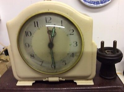 Vintage Smiths Sectric Bakelight Electric Alarm Clock