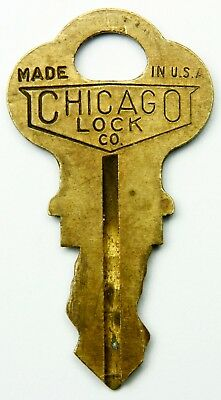Chicago Lock Co. Keys, Select One Numbered Key, Many To Choose From, Vending Etc