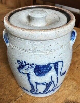 Rowe pottery Crock Pot with Lid