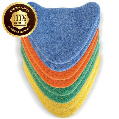 Vax Genuine Total Home 8x Hook and Loop Microfibre Multi-Colour Cleaning...