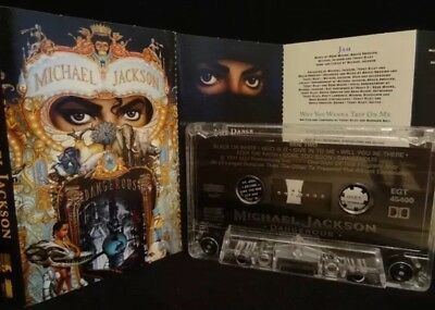 MICHAEL JACKSON Dangerous  / 1991 / MC, CASSETTE Epic ‎– EGT 45400