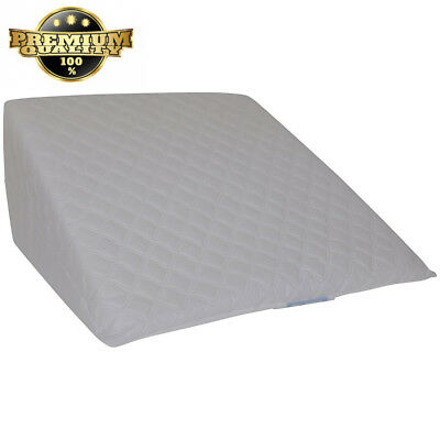 Linen Galaxy Wedge Foam Pillow Cushion Multi Purpose Comfort Pain Relief...
