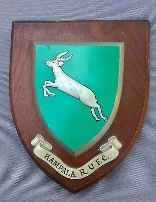 African Rugby Football Union - Kampala R.U.F.C. Crested Wall Plaque