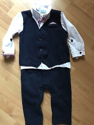 Ted baker 9-12 months baby boys all in one suit, worn once