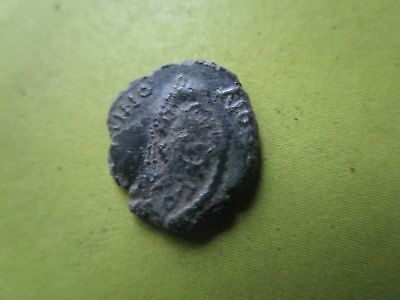 BONIFATIUS AD 422-431 , AE (11mm, 0.88 gr.). Double Minted