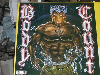 Body Count  Body Count incl C Killer rare vinyl Qotsa Tool Smash Gangster Rap
