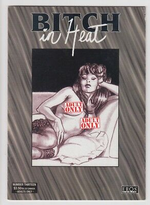 Eros Comix BITCH IN HEAT #13  Giovanna Casotto 2002  amazing italian cult erotic