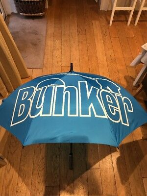 Brand New Rare Bunker Mentality Golf Umbrella ☂
