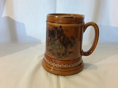 Lord Nelson Pottery hunting tankard