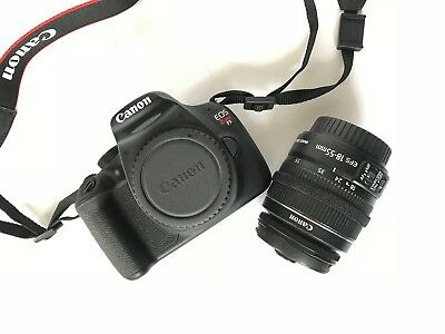 Canon Rebel T5 with 18-55 mm Lens