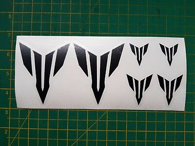 the dark side decals various sizes Yamaha MT 125 07 09 10