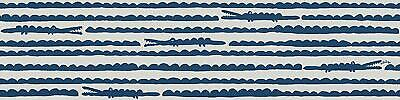 Oilily Crocodile Bordure – Bleu