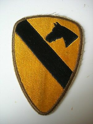 1st Cavalry Division WWII Shoulder Sleeve Insignia SSI