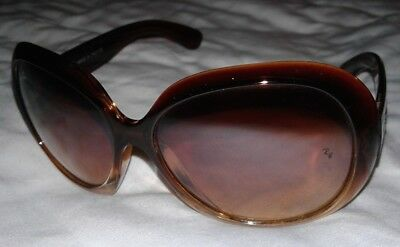 Ray-Ban Womens Jackie Ohh Sunglasses Radiant Brown Used