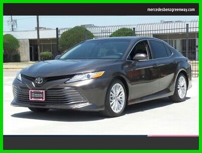 Toyota Camry XLE 2018 XLE Used 2.5L I4 16V Automatic Front Wheel Drive Sedan Moonroof