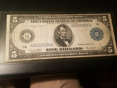 1914 $5 Reserve Note