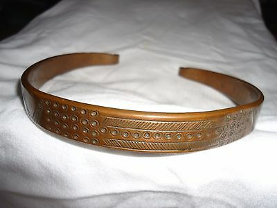 African Wealth Collar Vintage Jewelry Copper - Choker Necklace Art Africa