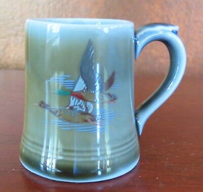 Wade Miniature Mug Toothpick Holder Flying Ducks/Geese Ireland