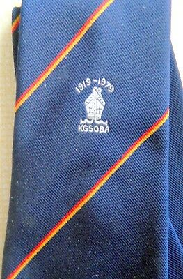 Kilburn Grammar School - Old Boys Tie. 40 years old next year. Old Creightonians