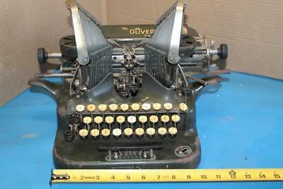 ANTIQUE The Oliver Typewriter No. 5 Standard Visible Rare Batwing STEAMPUNK