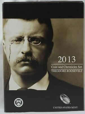 2013 U.S. Mint Coin and Chronicles Set - Theodore Roosevelt